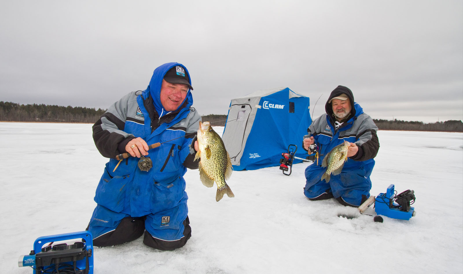 Clam outdoors for Ice fishing jacket