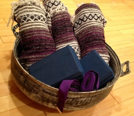 Gift Basked at Coolidge Yoga