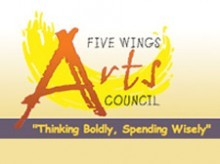 Five Wings Art Council Button