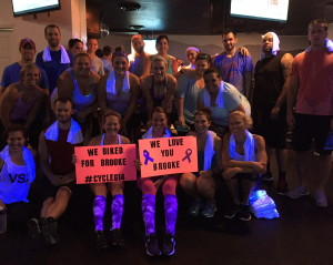 Friends of Brooke Fundraiser with Cycle614