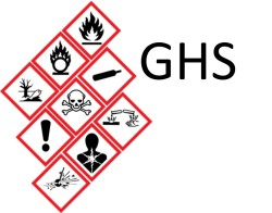 New globally harmonized system hazcom standard pictograms for a more universal chemical safety protocol.
