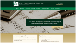 Speece Thorson Capital Group Website