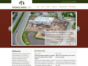 Hoagland Law website