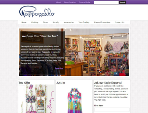 Pappagallo website