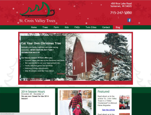 St. Croix Valley Trees website