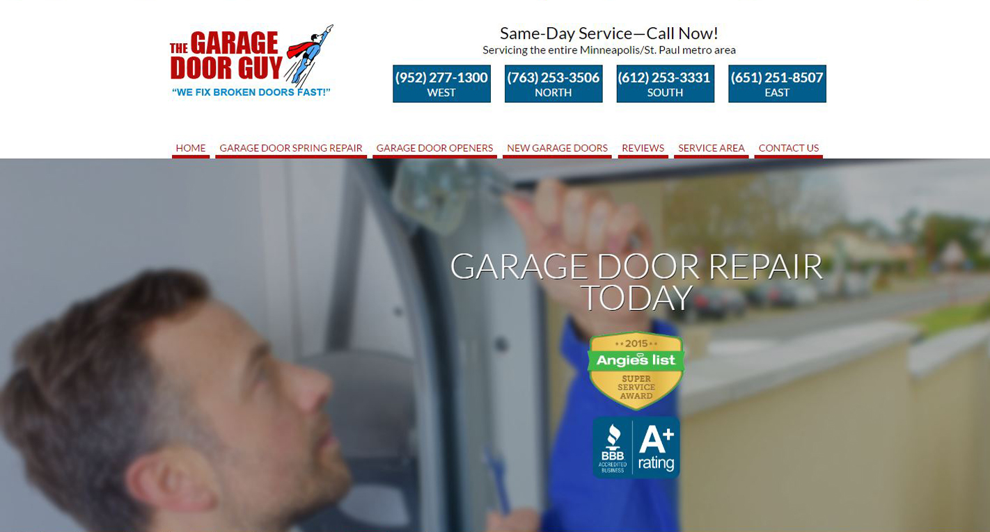 Home Repair New Website design