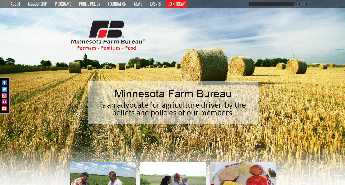 Farm Bureau New Website design