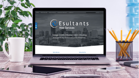 Esultants website portfolio