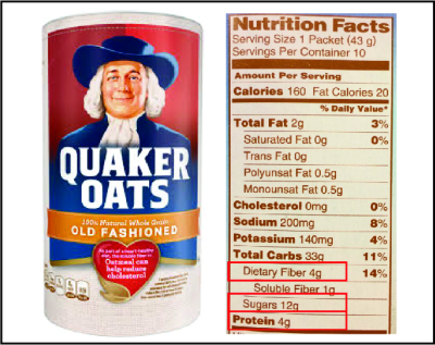 Quaker ingredients plain with box_copy