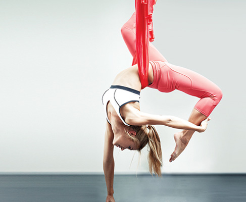 Aerial Silks at evolution yoga