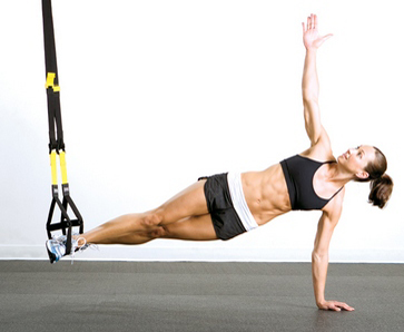 TRX at evolution yoga