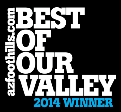 The Exercise Coach Name 2014 Best of Our Valley by Arizona Foothills Magazine