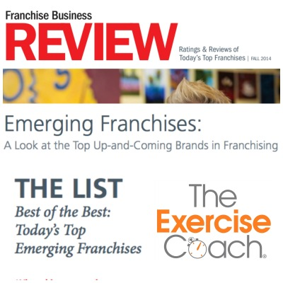 Exercise Coach Named Top Emerging Franchises 2014