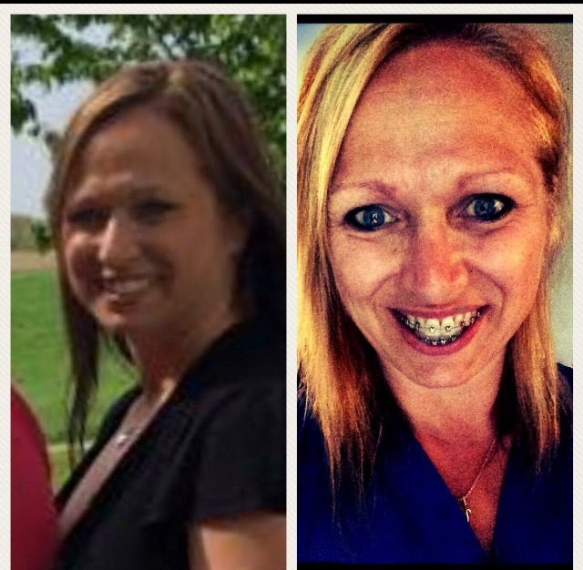 Mindy Before and After Farrell's Bettendorf