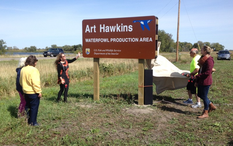 Hawkins Sign Unveiling 9-12-15