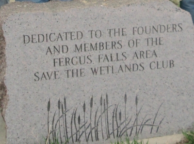 Save the Wetland Monument
