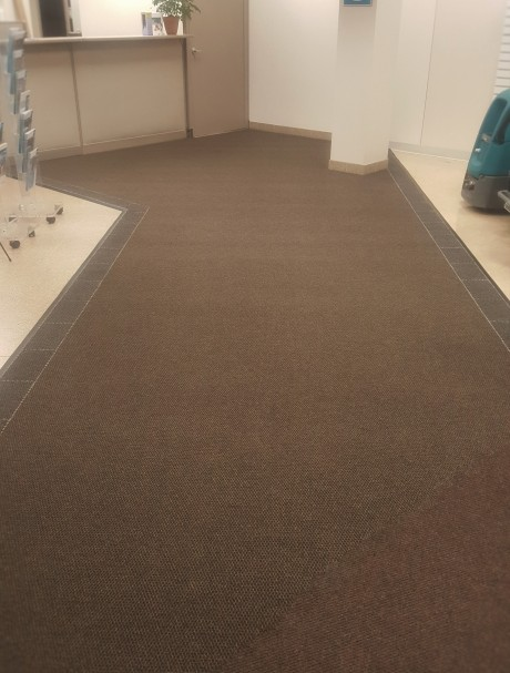 Commercial Mat Installation