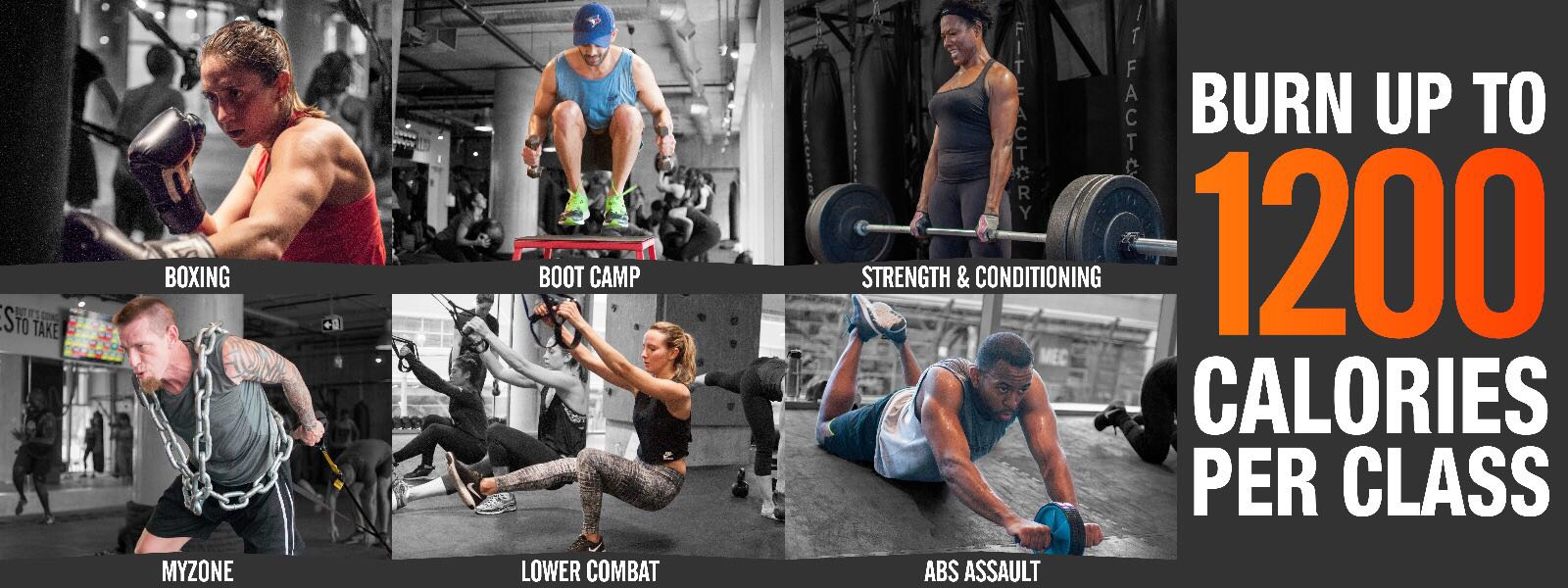 Fit Factory Fitness Toronto Gym Boot Camp Classes