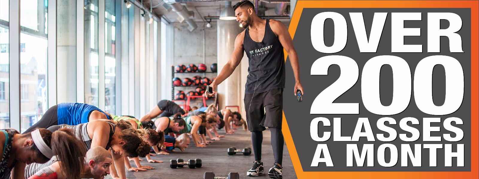 Fit Factory Fitness Toronto Gym Over 200 Classes