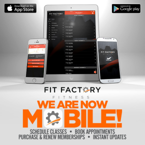 Fit Factory Mobile App