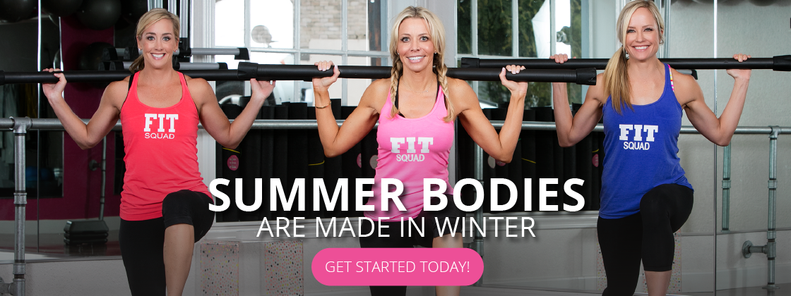 Summer bodies are made in the winter. Sign up for a class!