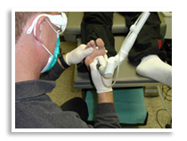 Podiatric treatments at Foot & Ankle Clinics