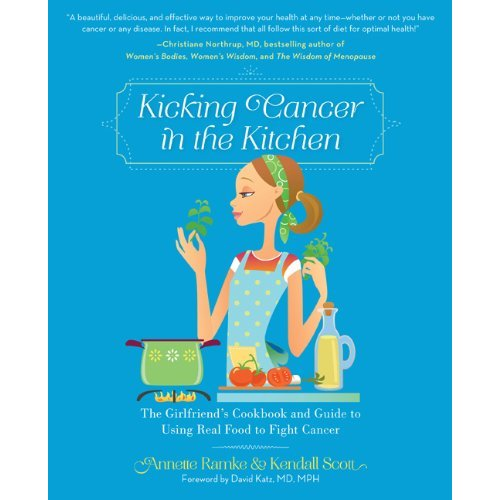 Kicking Cancer in the Kitchen Book Cover
