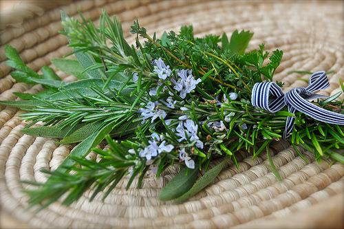parsley sgae rosemary thyme bundle