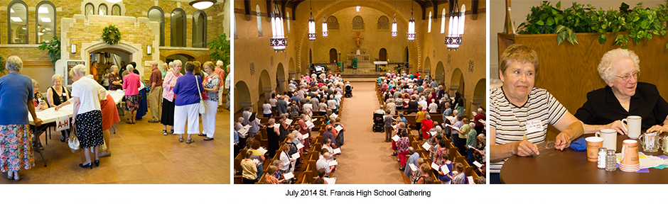 St. Francis High School Gathering 2014