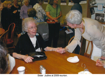 Sr. Judine at 2009 reunion