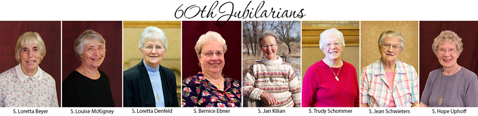 60th Jubilarians