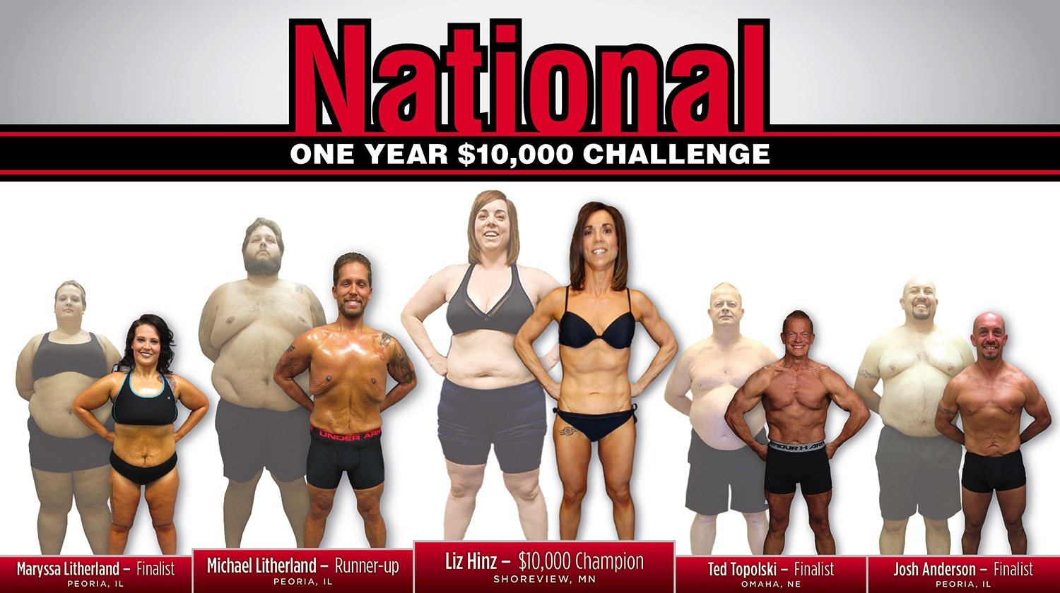 Farrell's eXtreme Bodyshaping $10,000 National Contest