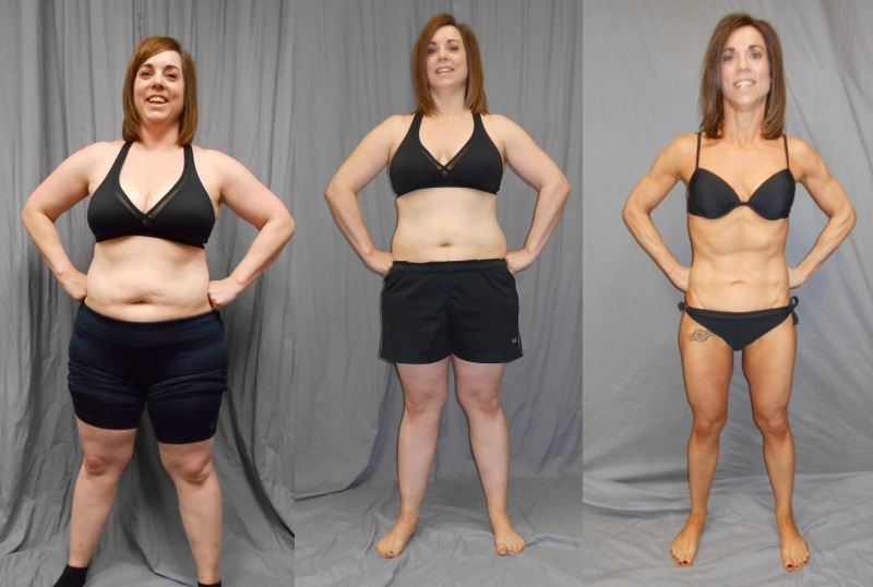 Liz Hinz, Farrell's eXtreme Bodyshaping National Contest Winner