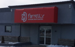 Storefront of Farrell's Cedar Valley