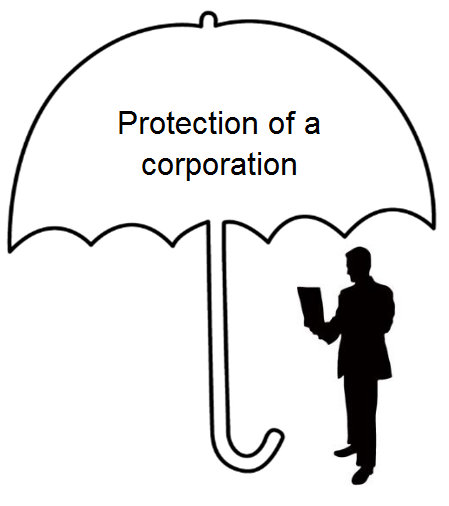 protection of a corp