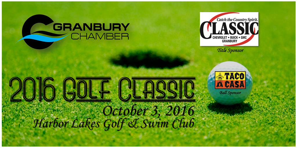 2016 Golf Classic Banner and Logo