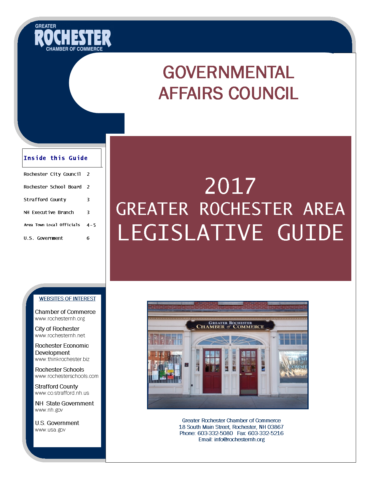 2017 Legislative Guide Cover