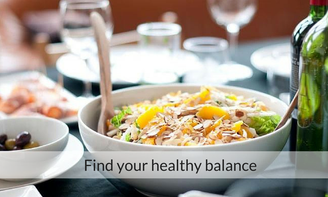 Find your healthy balance