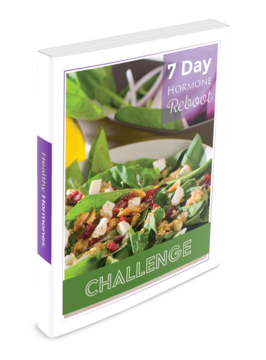 7-Day Hormone Reboot Challenge 3-D Cover