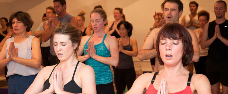 Hot Power Yoga studio Clapham
