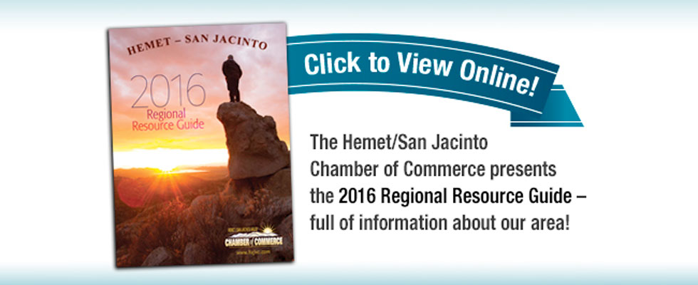 2016 Hemet San Jacintop Resource Guide