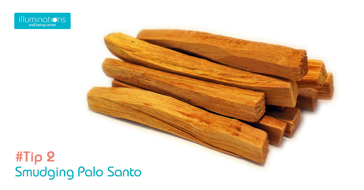 2 tip using palo santo