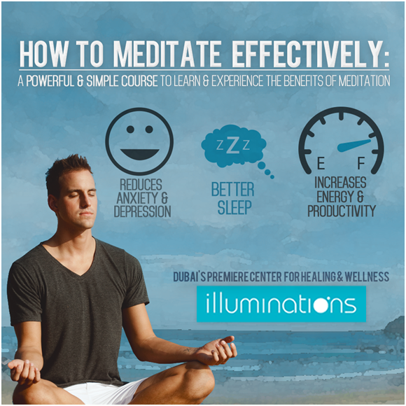 Meditation Classes in Illuminations Dubai