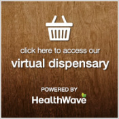 Purchase products through our HealthWave virtual dispensary