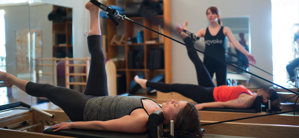 Reformers Pilates at Invoke Studio