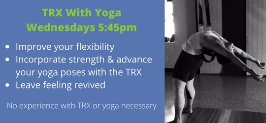 Improve your flexibility, Incorporate the strength of TRX_copy