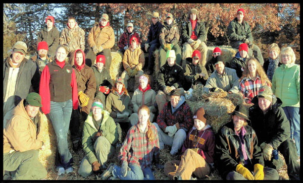 Christmas tree farm staff