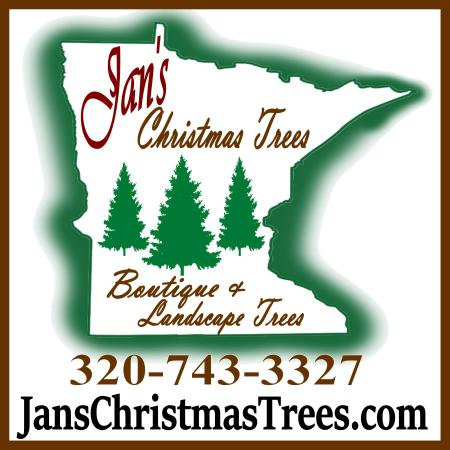 Jan's Christmas Trees Logo