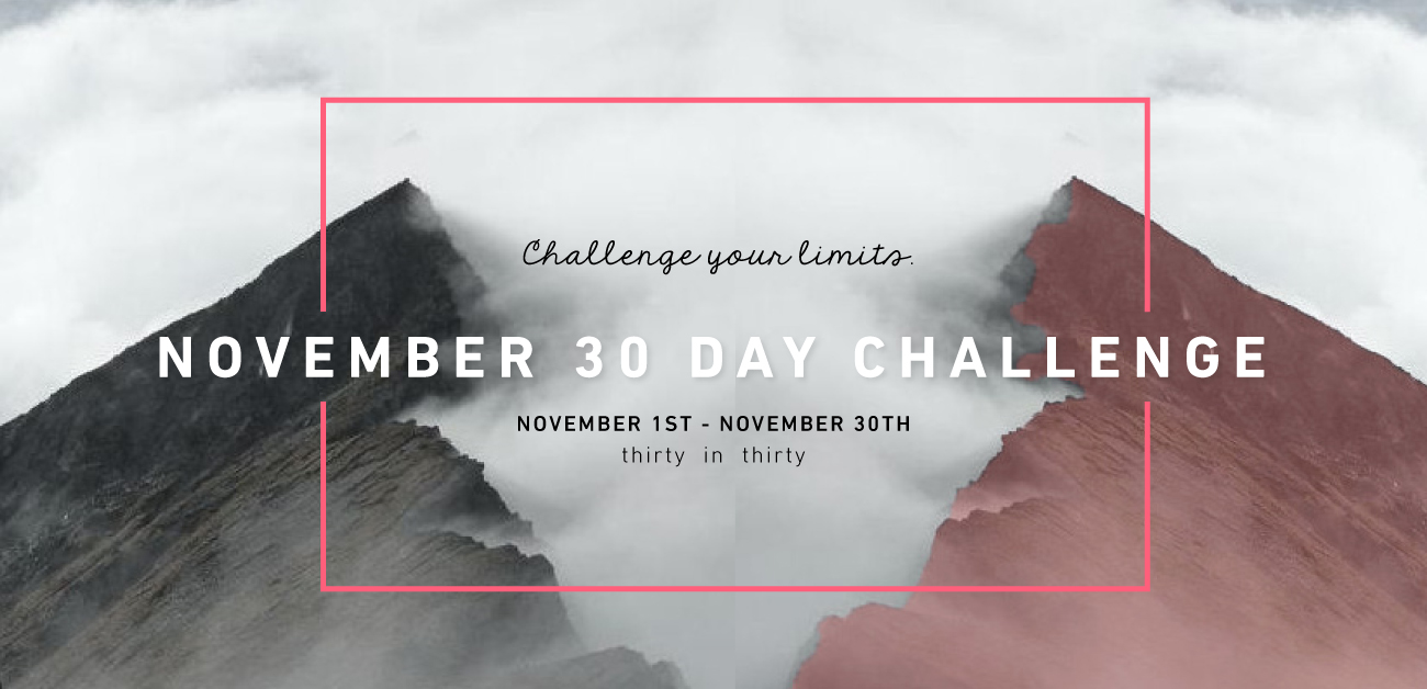 30 Day challange fall_web banner