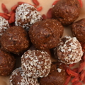 Goji Date Balls for Rejuvenation